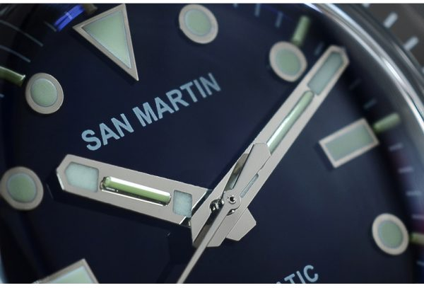 Damascus Watch San Martin Damascus Diving Watch limited edition SN002-D