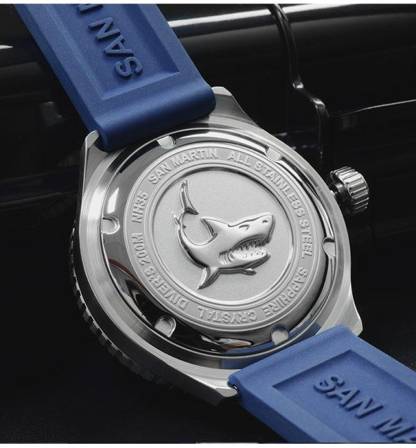 On Sale!!! SAN MARTIN custom niche diving watch automatic mechanical retro watch SN039