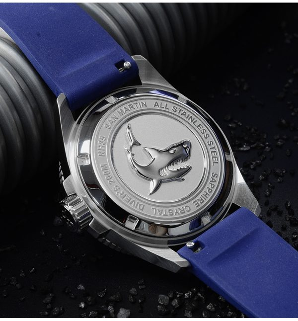 On Sale!!! San Martin diving watch automatic mechanical watch waterproof and luminous SN040-G