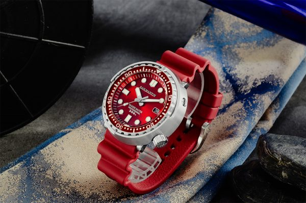 On Sale!!! San Martin diving watch automatic mechanical watch male luminous SN003-G2-J