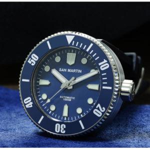 On Sale!!! San Martin 1000 meters waterproof watch diving watch mechanical watch SN001-G-SN