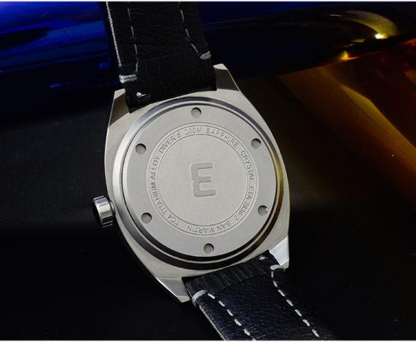 On Sale!!! San Martin original design diving watch GR5 titanium metal men's mechanical watch limited edition SN027-T1