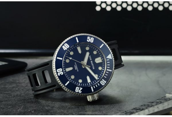 Damascus Watch San Martin 1000 meters waterproof watch diving watch mechanical watch SN001-D