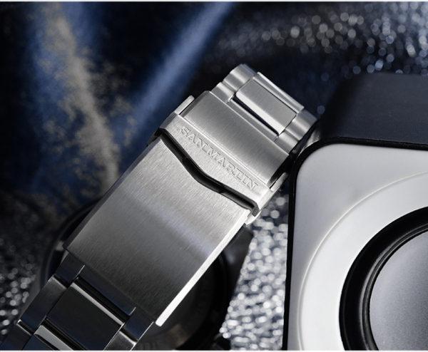Accessories SAN MARTIN waterproof stainless steel bracelet 20mm wide for SN007-G-V3