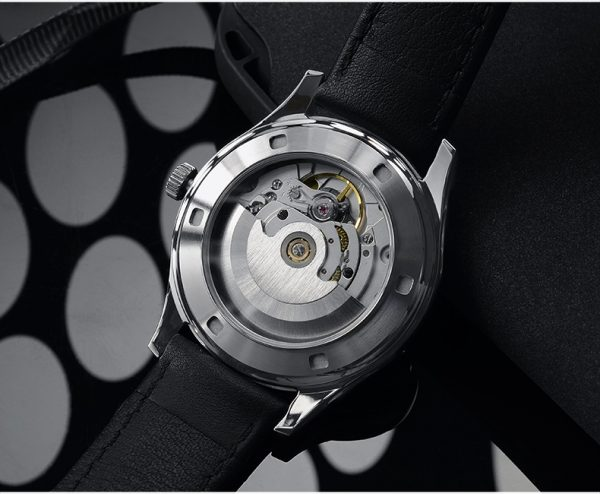 On Sale!!! San Martin simple style business dress watch fully automatic men's watch SN053