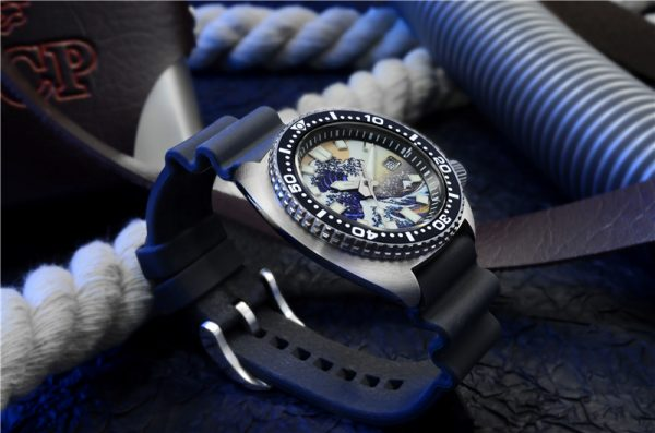 On Sale!!! San Martin Diving Watch Sapphire Crystal luminous dial SN0057G