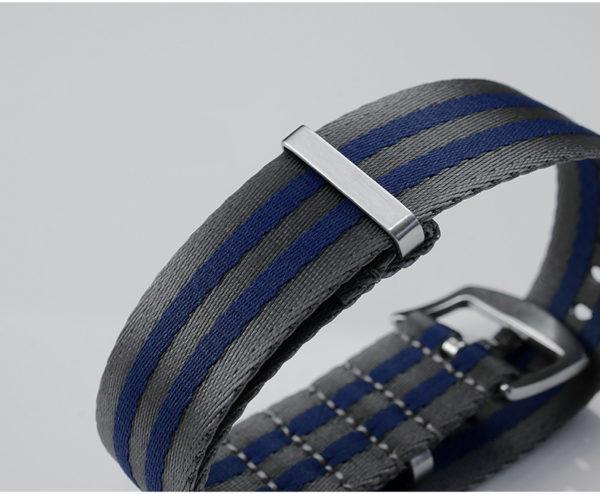 Accessories San Martin soft nylon strap 20mm/22mm pin buckle N002