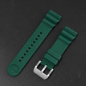 Accessories San Martin Imported Fluorine rubber diving strap 20mm/22mm waterproof watch strap F003