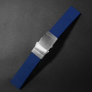 Accessories San Martin Imported Fluorine rubber diving strap 20mm/22mm waterproof watch strap F002