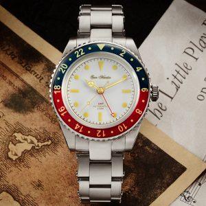 New Arrivals San Martin Diving Watch GMT Watch SN005-G