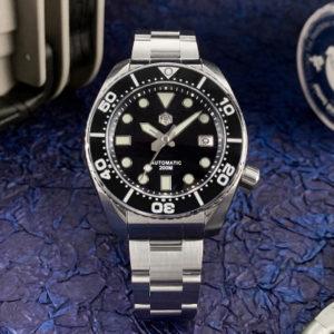New Arrivals San Martin mechanical Diving Watch new design SN079-G