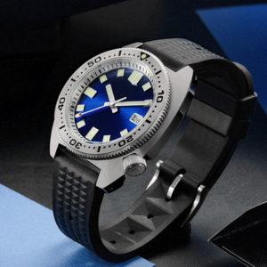 Bronze Watch San Martin Diving Watch Sapphire Crystal luminous dial SN0068G