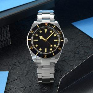 New Arrivals SAN MARTIN mechanical diving watch 200 meters waterproof SN008G
