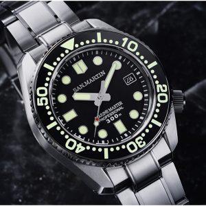 New Arrivals San Martin mechanical Diving Watch new design SN038-G