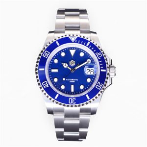 New Arrivals SAN MARTIN mechanical diving watch 200 meters waterproof SN019-G with PT5000 and SW200 movement