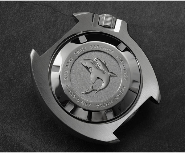 On Sale!!! San Martin mechanical watch sports diving watch SN047-G with leather strap
