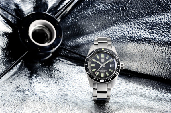 On Sale!!! San Martin Luminous Diving Watch Sapphire crystal SN007-G-V3 With Hexagonal Metal Logo