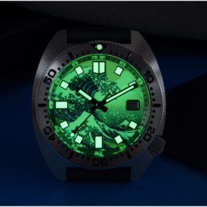 Bronze Watch San Martin Diving Watch Sapphire Crystal luminous dial SN0068G