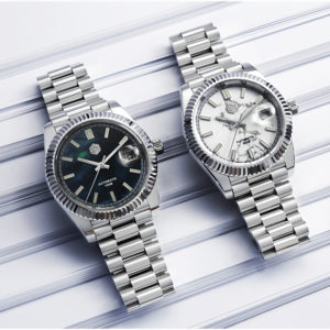 On Sale!!! SAN MARTIN 100m waterproof dress watch mechanical watch SN059