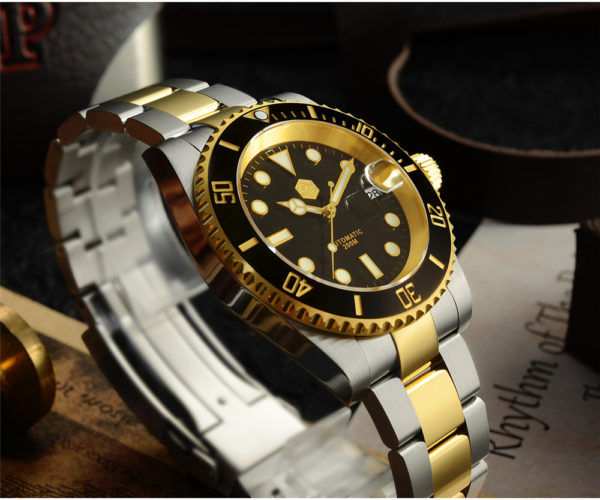 New Arrivals San Martin two color mechanical Diving Watch SN017-G-A