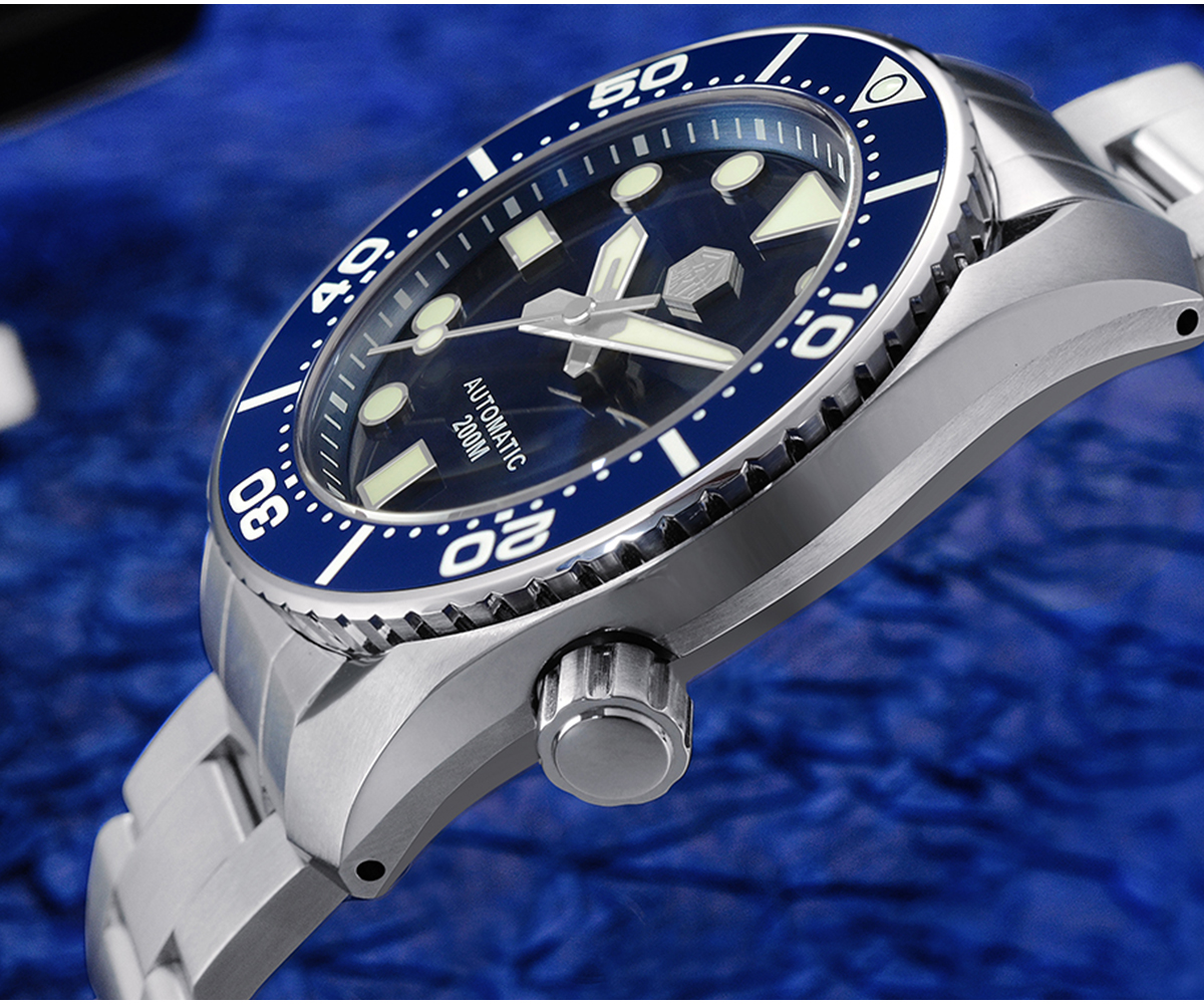 New Arrivals San Martin mechanical Diving Watch new design SN079-G