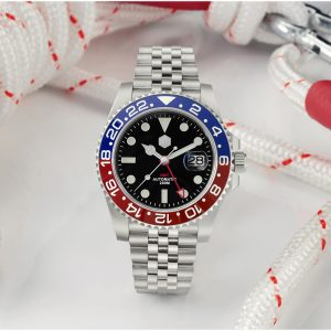 New Arrivals San Martin Diving Watch GMT Watch SN015-G